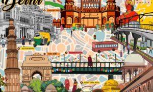 delhi historical places