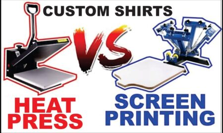 Heat Press vs Screen Press